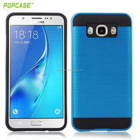 Most hot sell pure color combo case PC+TPU phone case, hard phone case low price phone accessories for LG K10-Q10