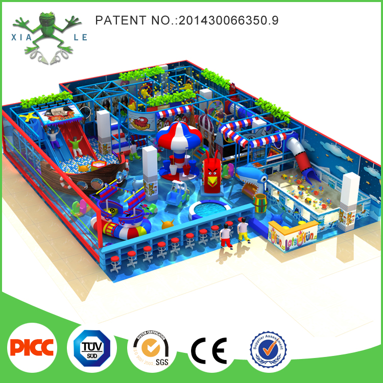 Used Daycare Equipment Area Baby Soft Play High Quality Products Commercial Indoor Playground for Sale
