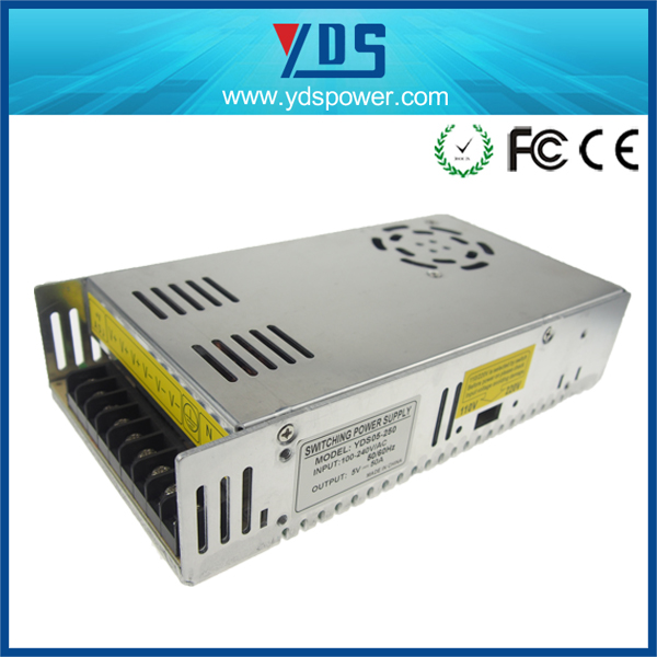alibaba wholesales 5V 50A 250W laptop driver manufacture for LED,CCTV,Camera china manufacturer