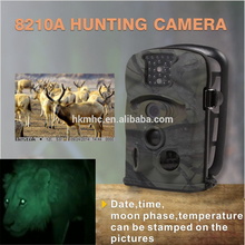 720p Hd night vision 940nm LEN sensor no flash at night mini hidden hunting camera with video funtion