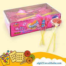 Romantic valentine day holiday gift Double Heart Shape sweet Lollipop candy