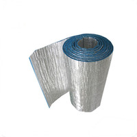 Aluminum foil color foam pipe insulation Epe/Xpe fireproof roof thermal material