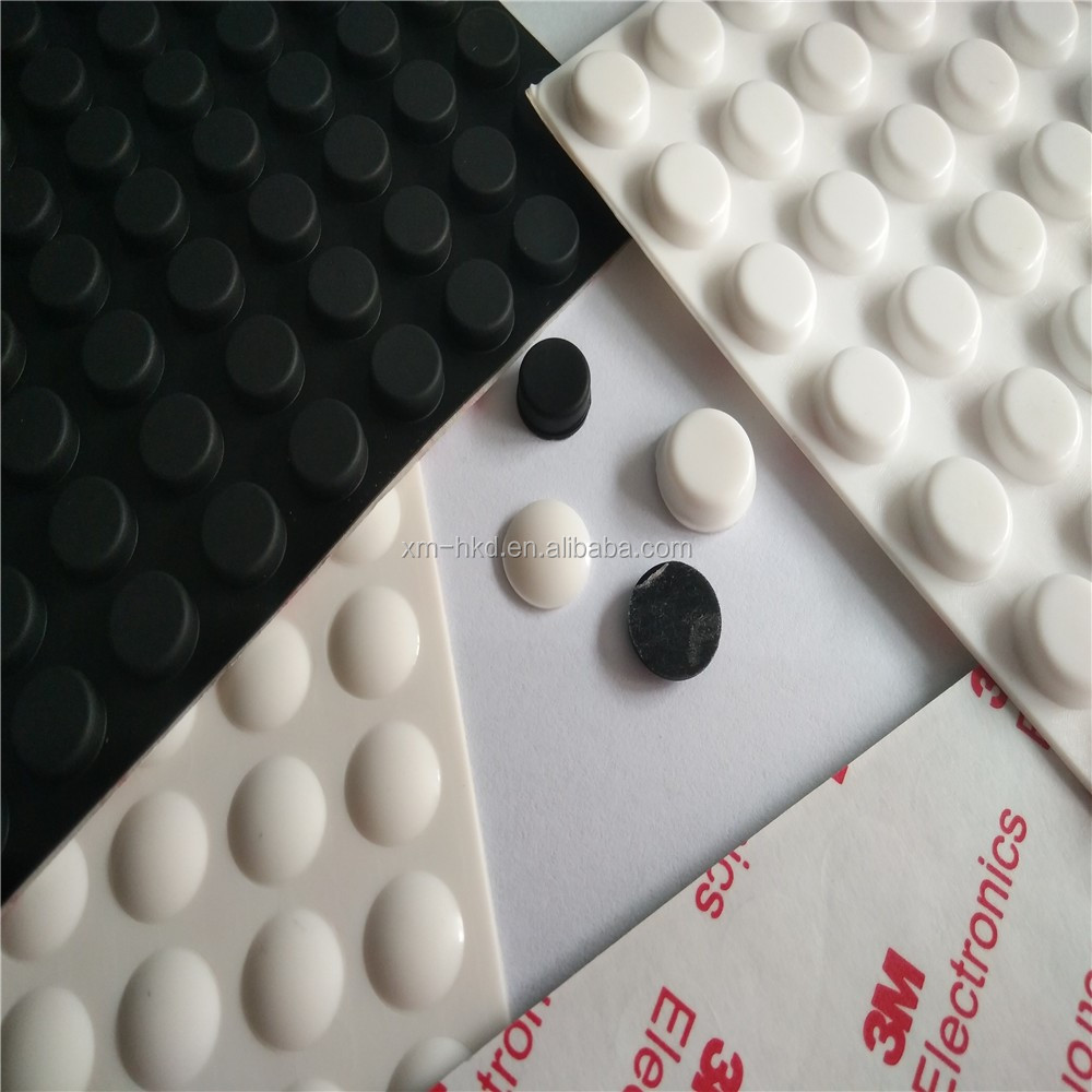 3M Adhesive Silicone Rubber Bumper Pads With Free Sample