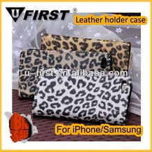 Leopard Pattern Wholesale Cell Phone Case For iphone 5c