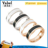Small wholesale Titanium steel ring gold rings design for women ring price