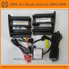 Hot Selling High Quality LED DRL for Skoda Octivia Factory Price Daytime Running Light LED Daylight for Skoda Octavia 2004-2008