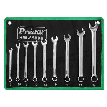 ProsKit HW-6509B 9Pcs Combination Wrench (Metric)