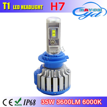 T1 led replacement bulb car use h4 h7 h9 h11 led headlight replace halogen bulb