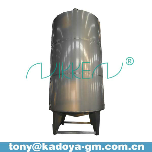 4000L stainless steel cider storage vessel