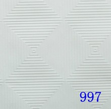pvc laminated gypsum tile / best quality ceiling board