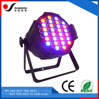 54pcs par light supplier with stage lighting decoration White led