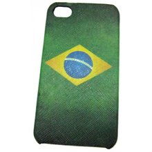 Fashion Cheap Brazil Flag Design Leather Cell Phone Case