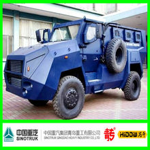 Anti riot Vehicle with turret