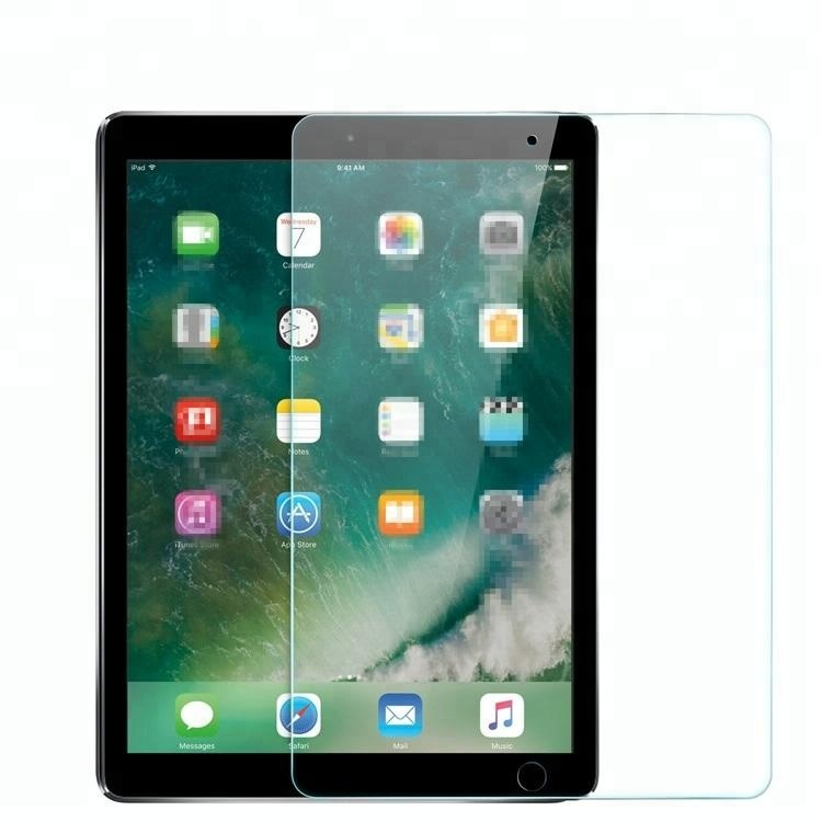High transparent screen protector+2.5D clear tempered glass+glass film for iPad Air 2