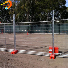 Temporary isolation fence movement fencing The special type