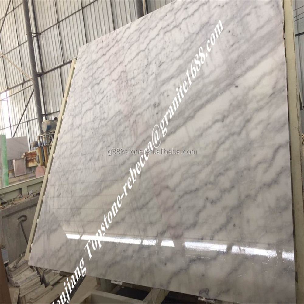 Carrara White Marble Table Top, Round Marble Countertop