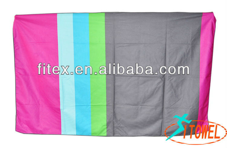 New product for 2013 china designer recommend uv protection microfibra printed beach towel from alibaba china