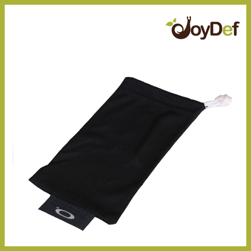 Sunglasses Eyeglasses Black Microfiber Pouch Cleaning Case Bag