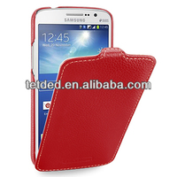 OEM Premium Leather Case for Samsung Galaxy Grand 2 Duos SM-G7106 / SM-G7102 -- Troyes (LC: Red)