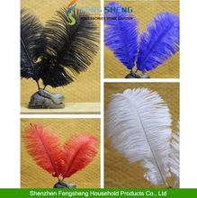 Beautiful Ostrich Large Feather colorfull Wedding Craft Decoration