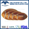 Durable football shape plastic serving tray