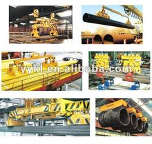 Lifting magnet for lifting steel coils , electromagnet