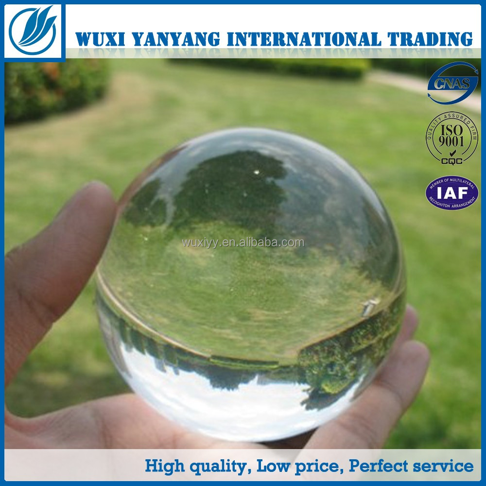 Factory Direct 20-300mm Solid Clear Acrylic Ball