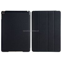 quality new leather flip case with stand function for ipad 2