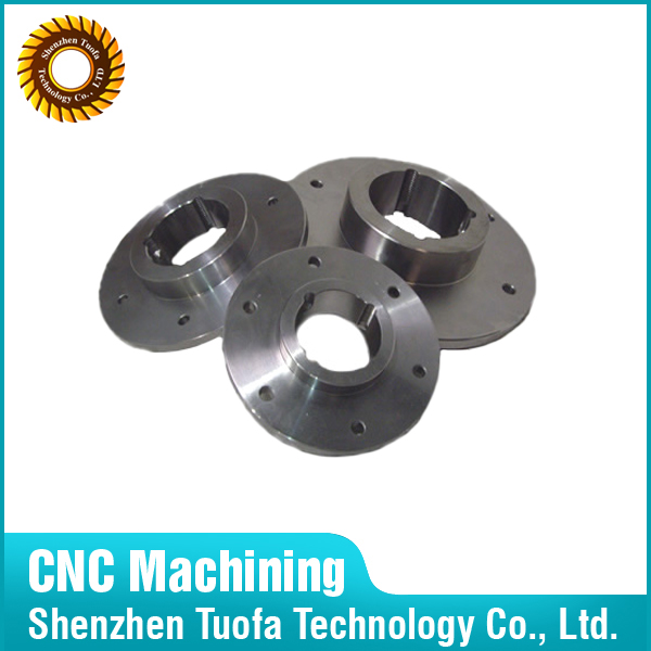 Custom CNC machining parts stainless steel puddle flange in Shenzhen