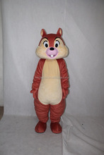 2016 hot selling cheap chipmunks mascot costume commercial use