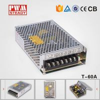 NEW ARRIVAL!! 60W Triple output switching power supply 60 w 5v 12v -5v switching power