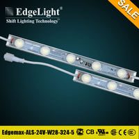 Edgelight Hot product underwater waterproof strip light led for outdoor display use