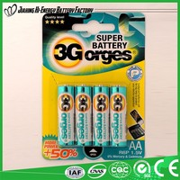 Alibaba Suppliers Guaranteed Quality Environment Friendly Dry Battery 1 5V Aa Battery
