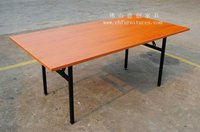Modern Folding Hotel Trestle table YC-T04