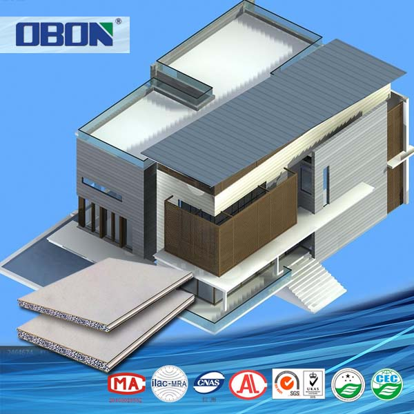 OBON quick assembly precast panels steel prefabricated concrete houses philippines