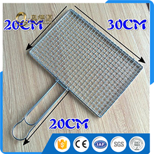 BBQ Tools / 304 stainless steel wire meshes folder / oven grill / fish clip / 20 * 30CM