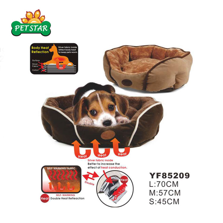 Promotion Price Stocklot Inventory Hot Heated Pet Self Warming Dog Bed
