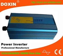 3000W dc 12v to ac 220v convert modified sine wave pure sine wave