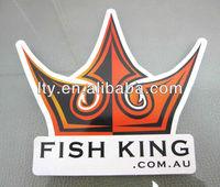 crown shaped souvenir label stickers(M-A05)