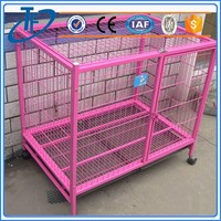 new style pet crate dog cage , large pvc coated dog cage