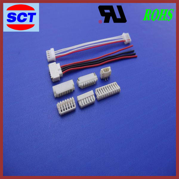 high quality jst sur 0.8mm pitch pcb wire to board crimp connector