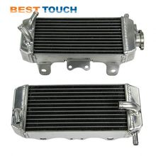 Aluminum RM85 2002-2009 motorcycle all aluminum motor radiators for SUZUKI