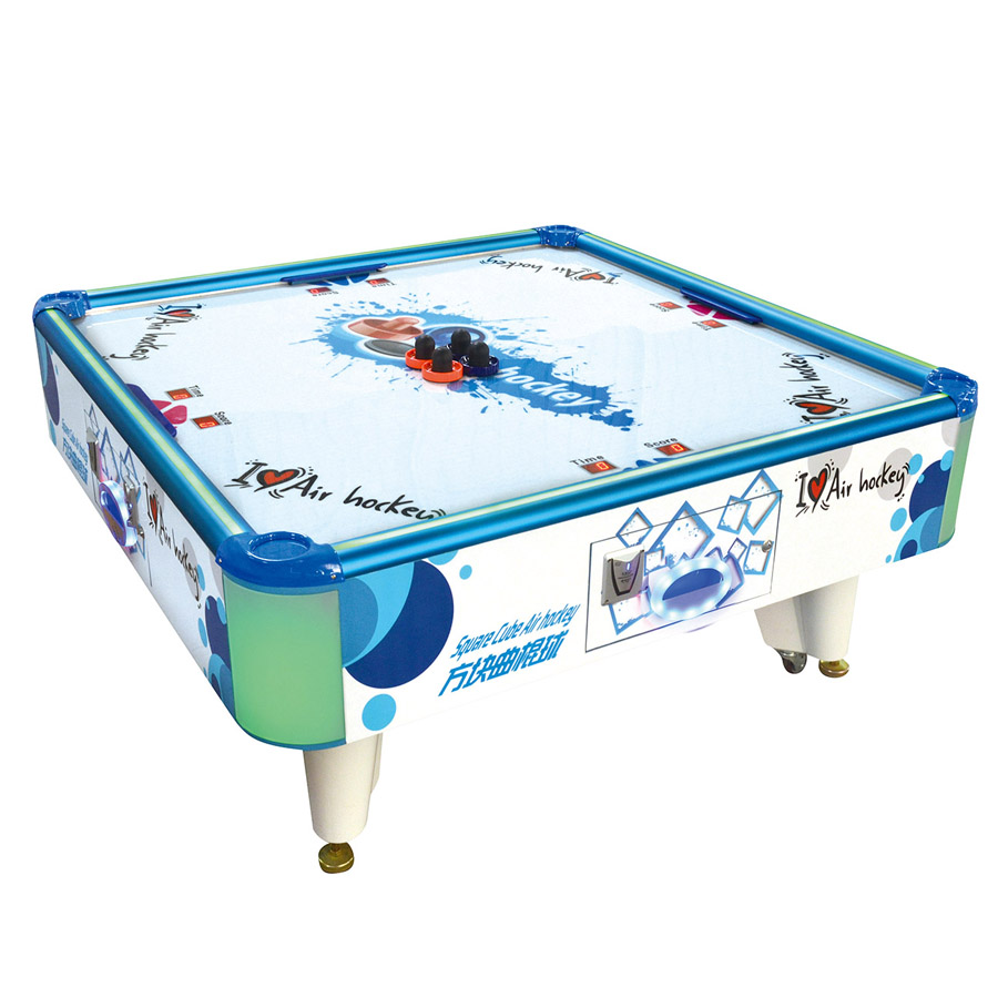 4 Person professional air hockey table fun with electronic scorer,air hockey pucks game table