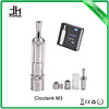 Big sale !!! Dry herb vaporizer cloutank m3 kit e cigarette pyrex glass ecigator ehookah