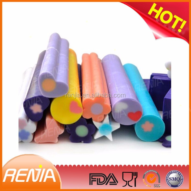 RENJIA 3D Column Shape Embed Silicone Molds Silicone Homemade Soap Silicone Pipe Tube Mold