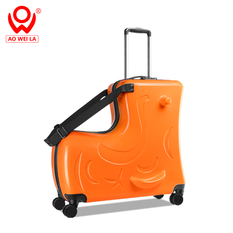 kids rideable luggage