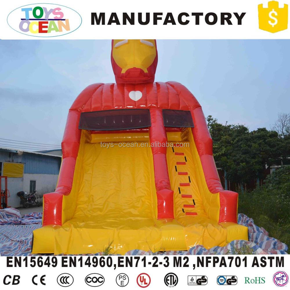 inflatable colorful bounce slide jumping castle