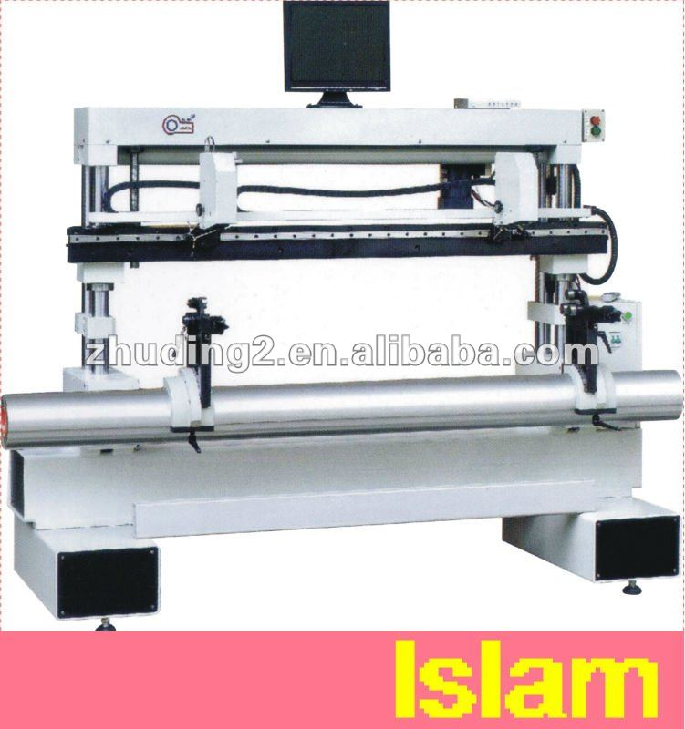 AUTOMATIC VIDEO PLATE MOUNTER FOR FLEXO GRAPHIC PRINTING MACHINE