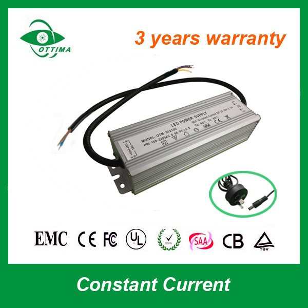 50w waterproof LED street light driver 1500ma constant current explosion-proof transformer
