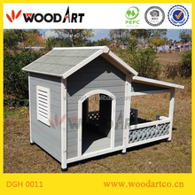 Comfortable solid wooden decorative dog house
